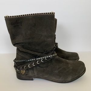 Coolway - Carey Suede Pull-On Boots - NEW!